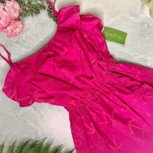 NWT Lilly Pulitzer Pink Nautical Kalen Dress